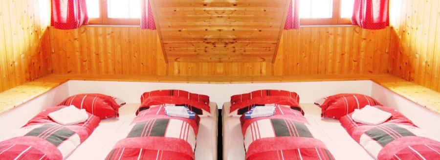 Hüttenurlaub Alm Zimmer